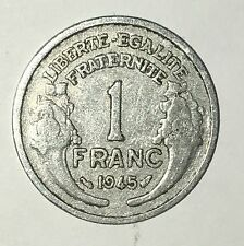 Pièce Ancienne - 1 Francs Morlon 1945 - Ancient French 1 francs coin