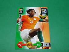 DROGBA COTE D'IVOIRE PANINI FOOTBALL FIFA WORLD CUP 2010 CARD ADRENALYN XL