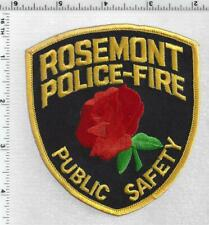Rosemont Police-Fire Public Safety (Illinois) 1st Issue Shoulder Patch
