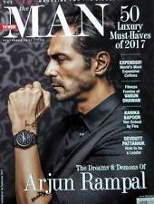 The Man India September 2017 Arjun Rampal Varun Dhawan Gauhar Khan Kanika Kapoor