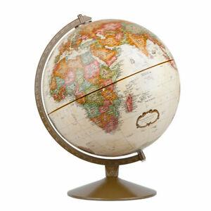 Replogle Globes RE-31501 The Franklin 12-Inch World Globe in Antique Finish