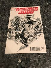 GUARDIANS 3000 #1 RARE 1:100 SKETCH VARIANT ALEX ROSS COVER!!