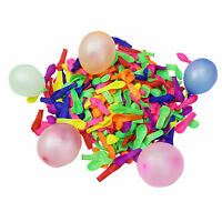 200 Water Balloons Bombs Multi Colour Kids Summer Party Fun Toys Bag Fillers NEW