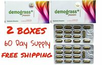 2 BOXES Demograss PREMIER Supplement 100% Authentic GUARANTEED 60 CAPSULES