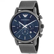 NEW EMPORIO ARMANI AR1979 Sport Chronograph Stainless Steel Men's Wrist Watch