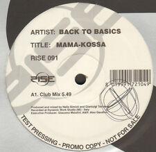 BACK TO BASICS - Mama-Kossa - Rise