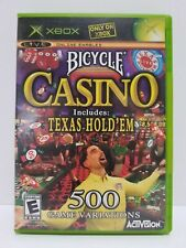 Bicycle Casino MINT DISC Microsoft Xbox VERY Fast Shipping Worldwide!!!