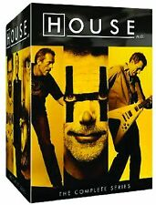 HOUSE M.D. The Complete DVD Series Collection 1-8 - Season 1 2 3 4 5 6 7 8 - MD