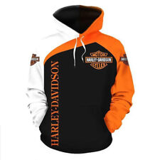 Harley Davidson Motorcycle Biker All Over Printed Hoodie 3D S-3XL