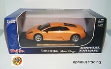 Maisto Special Ed Lamborghini Murcielago LP580 Coupe V12 Orange 46629 1/18 MINT!
