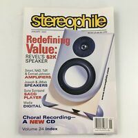 Stereophile Magazine January 2002 Conrad-Johnson Amplifiers, Newsstand