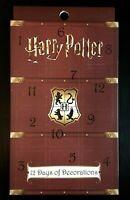 Harry Potter  12x Porzellan Christbaum Anhänger Adventskalender Weihnachtskugeln