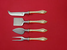 La Perle by Reed & Barton Sterling Cheese Serving Set 4 Piece HHWS  Custom