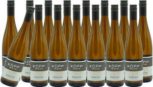 (15 x 0,75l) 20er RIESLING Prädikatswein Erzeugerabfüllung Weingut Kopp Pfalz