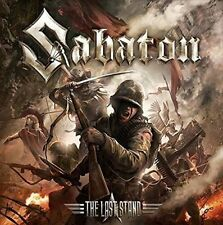 Sabaton The Last Stand CD DVD Limited Edition & 2016 Nuclear Blast