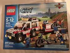 Lego Collectible Retired City Dirt Bike Transporter (4433)