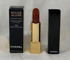 Chanel Rouge Allure Luminous Intense Lip Colour 169 ROUGE TENTATION .12 Oz NIB