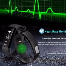 Smart Watch Armband Heart Rate/Blood Pressure/Oxygen Oximeter Sport Bracelet
