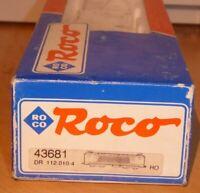 Roco 43681 Leerverpackung E-Lok BR 112.0-112.1, BR 143, 243 DR + DB,OVP, Box