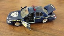 """Old Navy """"Highway Patrol"""" Car; Roadchamps; 1/43 Scale"""