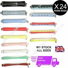 24 X PERM ROD ROLLERS CURLERS perming hair professional We stock ALL SIZES