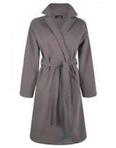 Boohoo Plus Sasha Belted Wool Look Coat Size Large New with tags Mocha colour