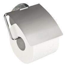 WENKO 22208100 Static-loc Toilettenpapierhalter mit Deckel Osimo - Befestigen