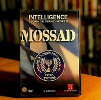 INTELLIGENCE STORIA DEI SERVIZI SEGRETI Mossad DVD NUOVO E SIGILLATO