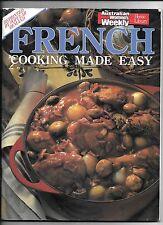 4 x Australian Women's Weekly cooking magazines -French, Italian, Chinese, Malay