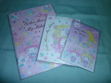 Sailor moon LOT Sanrio My Melody Seven Eleven Japan 7 11 Notebook Memo Sticker
