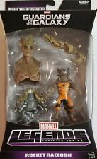 Marvel Legends ROCKET RACCOON Guardians of the Galaxy Groot BAF piece. MIB