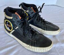 Vans NASA Apollo 11 Voyager SK8 Skater Hi Shoes Black Mens Size 8 Women's 9.5