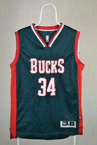 Giannis Antetokounmpo #34 Milwaukee Bucks Rookie Jersey Size XL RARE NBA