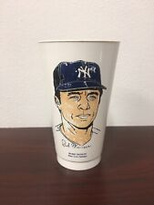 1973 7-11 Slurpee Bobby Murcer Cup Yankees Free Shipping!