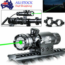 Tactical Green Laser Sight Rifle Gun Mount Scope Rail & Remote Switch Hunting #e