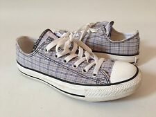 Converse Chuck Taylor Lo-Top Mens 4 Womens 6 Plaid Canvas NICE!