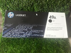 Genuine HP LaserJet 49A Black Toner Cartridge (Q5949A) *NEW & SEALED* IN BOX