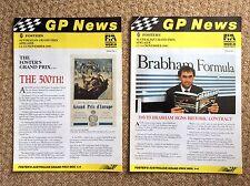 4 VINTAGE Adelaide FORMULA 1 Australiana ONE 1990 GP news letter David BRABHAM