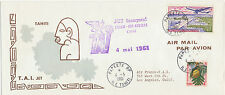 2415 FRENCH POLYNESIA 1961 FF PAPEETE Tahiti, FRENCH POLYNESIA – LOS ANGELES USA