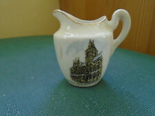 TOWN HALL NORTHAMPTON PICTURE - MINIATURE JUG - CORONET CRESTED CHINA