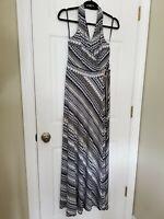 White House Black Market Stretch Maxi Dress $140 NWT Sz 8 Timeless