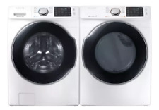 Samsung Wf45M5500Aw & Dve45M5500W 27 Inch Side-by-Side Washer & Dryer Set