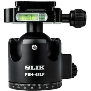Slik PBH-45LP Low Profile Ball Head with Arca-Type Quick Release Plate