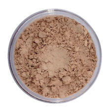 Mineral Foundation Makeup LIGHT SAND Acne Full Cover w Natural Bare Finish