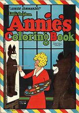 Annie coloring book RARE UNUSED