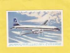 B O A C  DOUGLAS  DC -7C  ''   SEVEN SEAS  ''    ( Wm 18  )