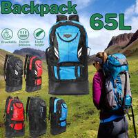 65L Sac à Dos Tactique Randonnée Camping Grande Capacité Outdoor Voyage Escalade