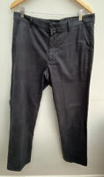 Men's Trousers W34 L34 Black GANT <MM1382