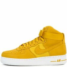 Nike Air Force 1 High '07 SZ 13 University Gold Mineral Gold White 315121-700