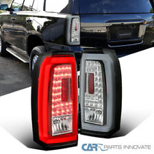 Clear LED Tail Lights For 15-18 Chevy Tahoe Suburban Rear Parking Brake Lamps